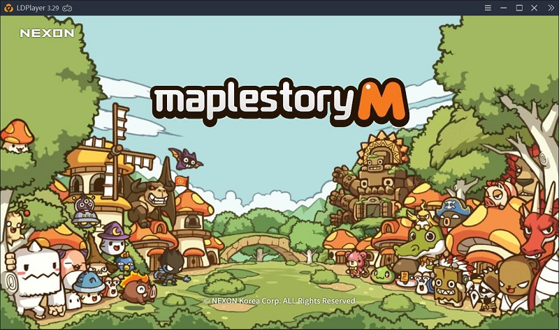 How to play Maplestory M on PC