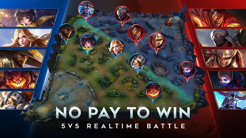 play Garena AOV - Arena of Valor: Action MOBA (ID) on pc