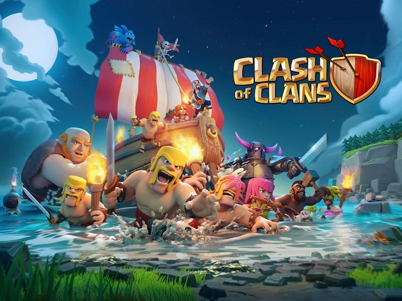 play 部落衝突 Clash of Clans on pc