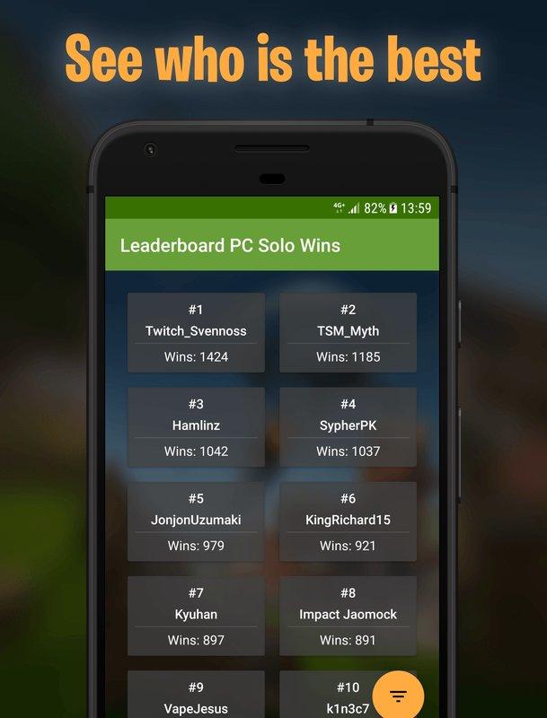 play RoyaleStats for Fortnite Battle Royale Stats on pc