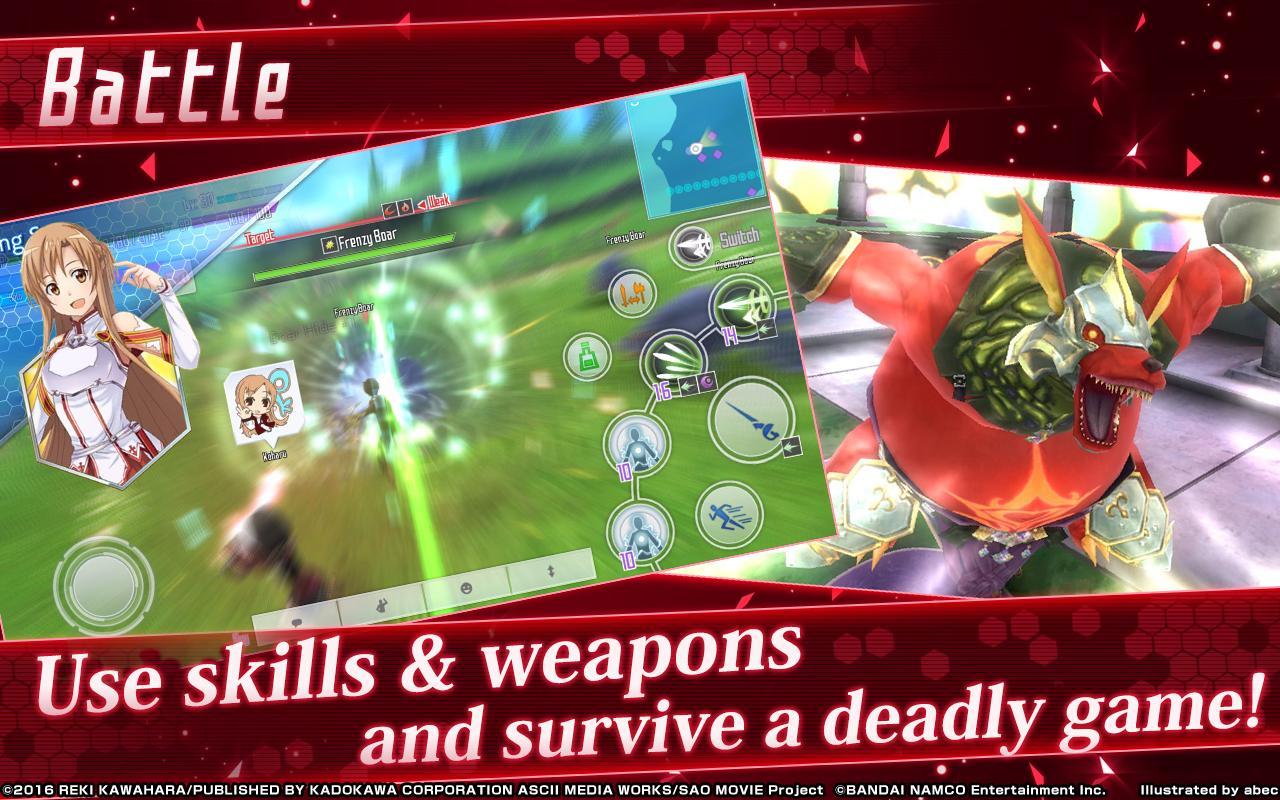 play Sword Art Online: Integral Factor on pc