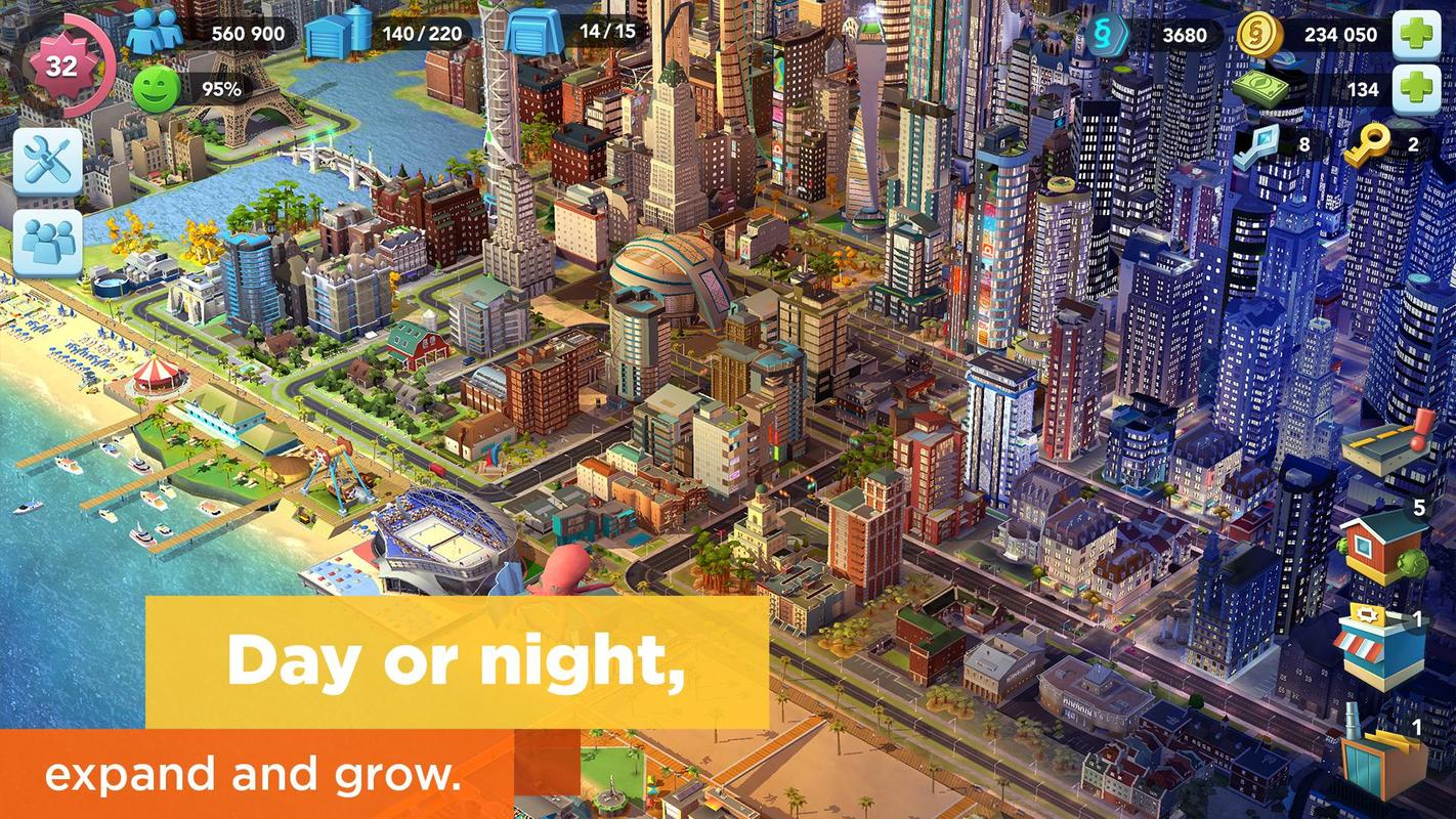 play SimCity BuildIt on pc