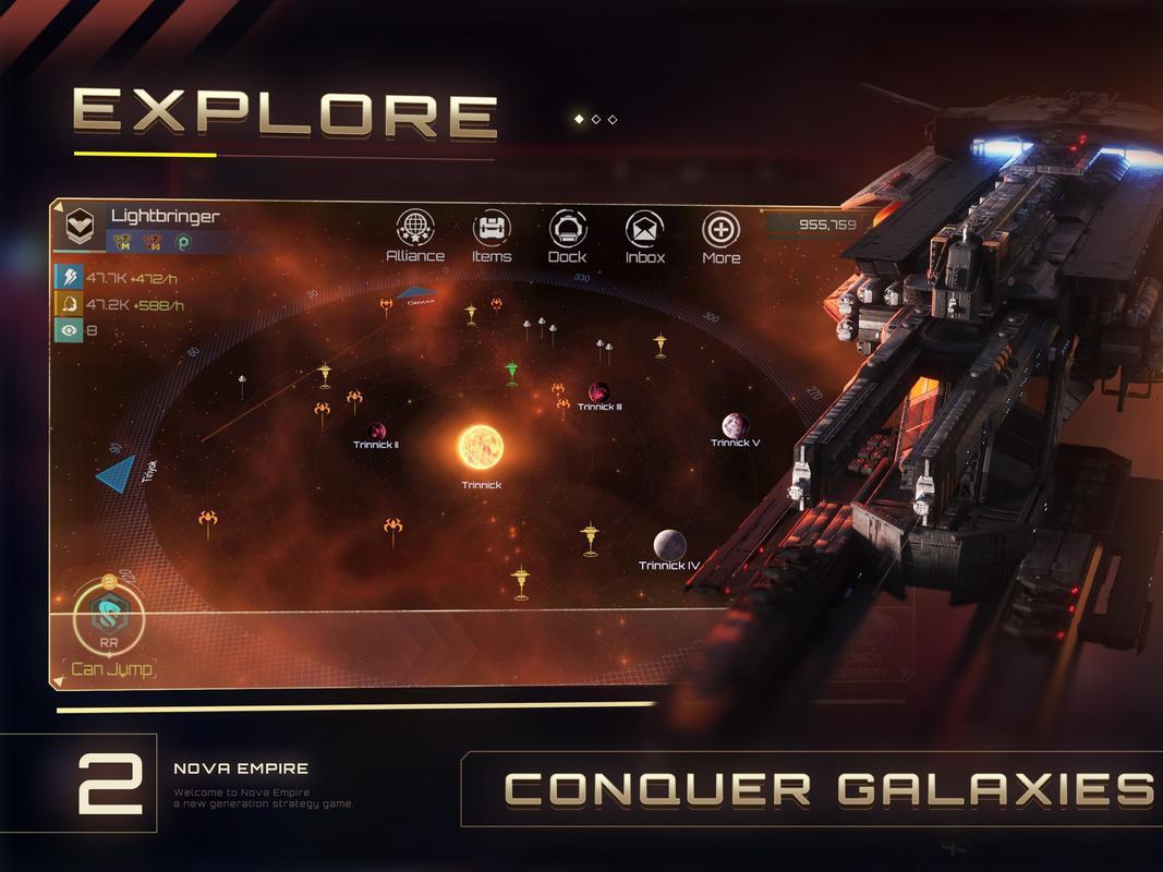 play 노바 제국 (Nova Empire) on pc