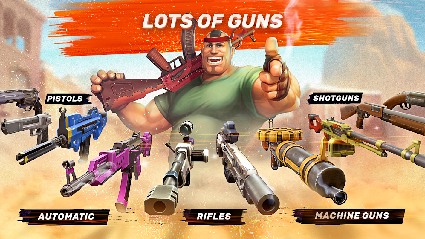play Guns of Boom on pc