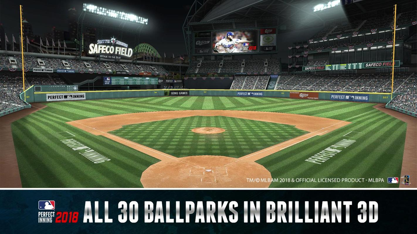 PC로 MLB 퍼펙트 이닝 2018 하기