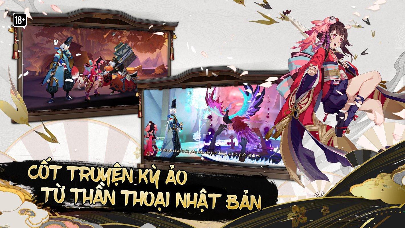 play Âm Dương Sư - Onmyoji on pc