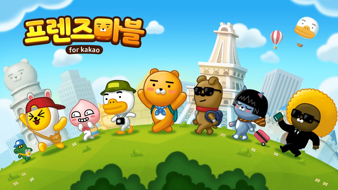 play 프렌즈마블 for kakao on pc