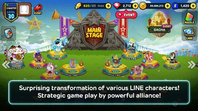 play LINE Rangers on pc