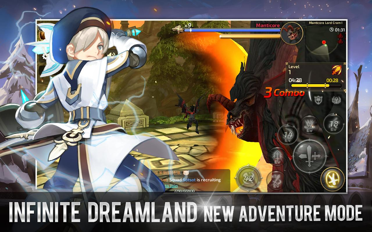 play Dragon Nest M SEA(Dark Avenger) on pc