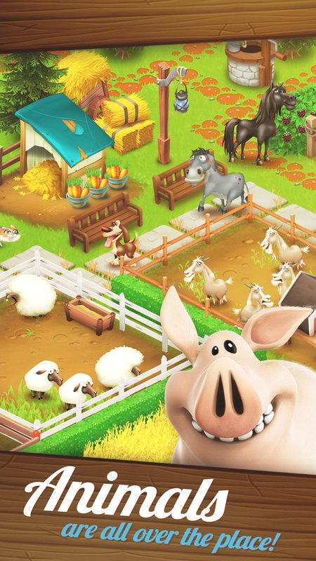 play 卡通農場(Hay Day) on pc