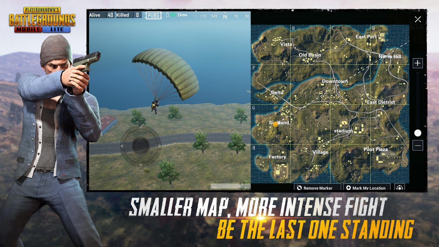 play PUBG MOBILE LITE on pc