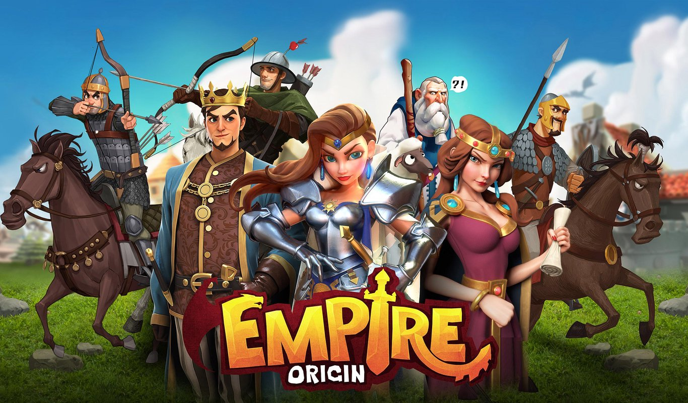 play 엠파이어 오리진 (Empire:Origin) on pc