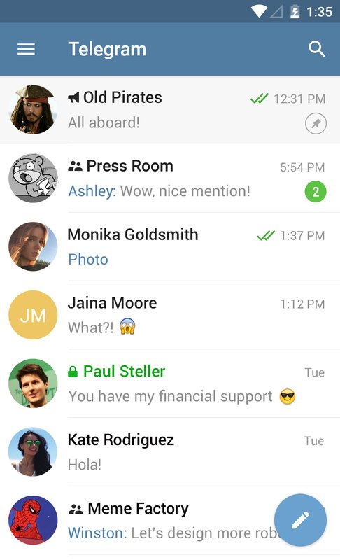 play Telegram on pc