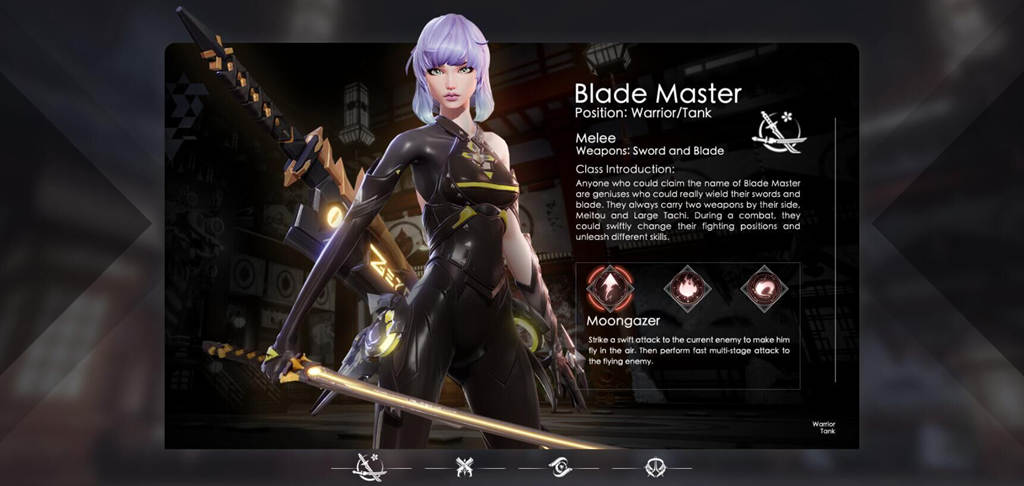 Brief Introduction of Blade Master