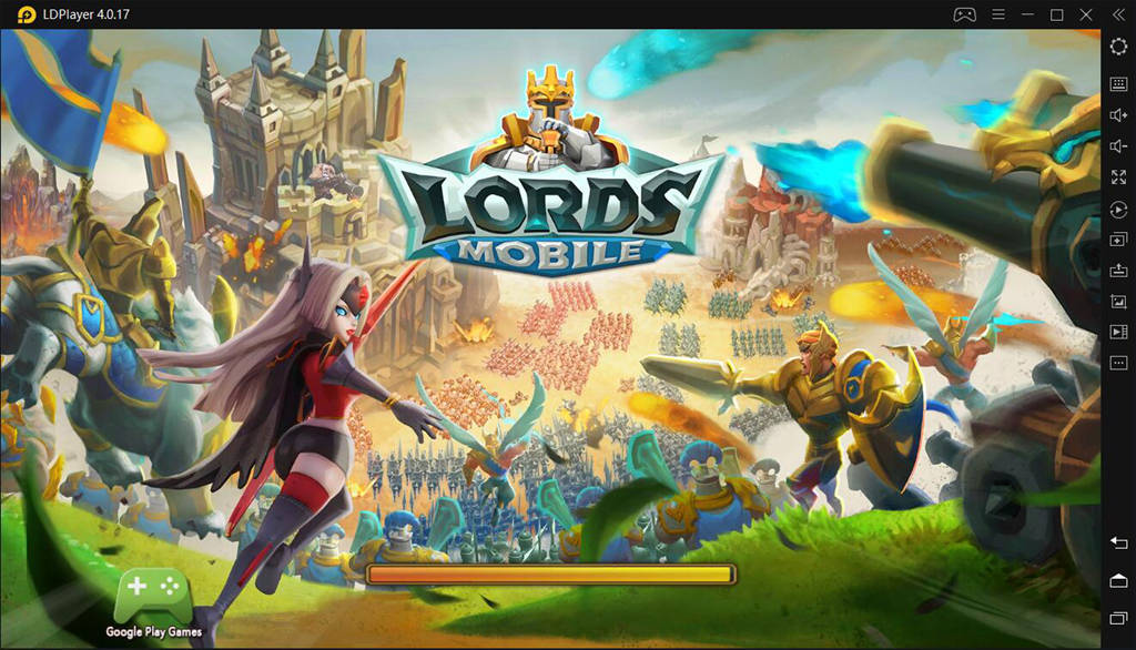 Lords Mobile on PC with LDPlayer