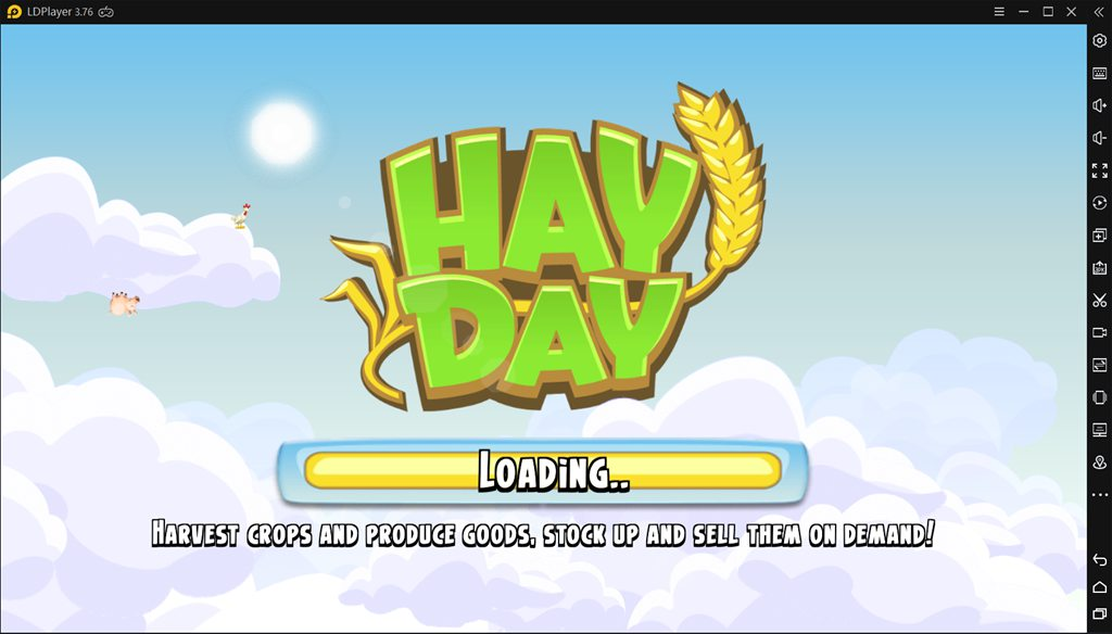 Open Hay Day