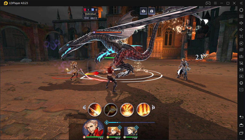 Play Blade XLord on PC with LDPlayer Landscape Mode