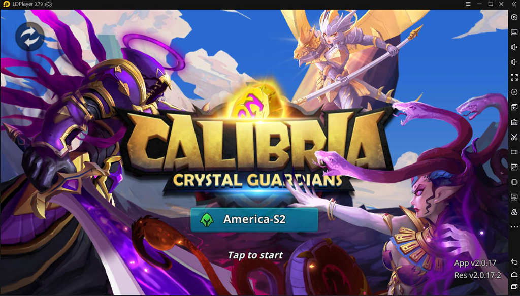 Play Calibria Crystal Guardians on PC