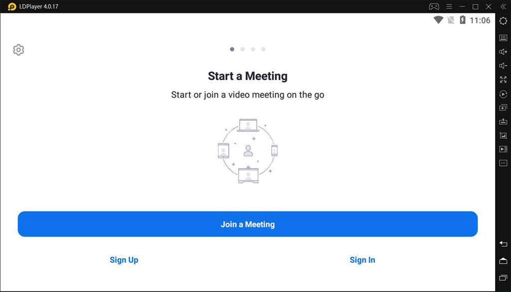 Use Zoom Cloud Meetings on PC with LDPlayer