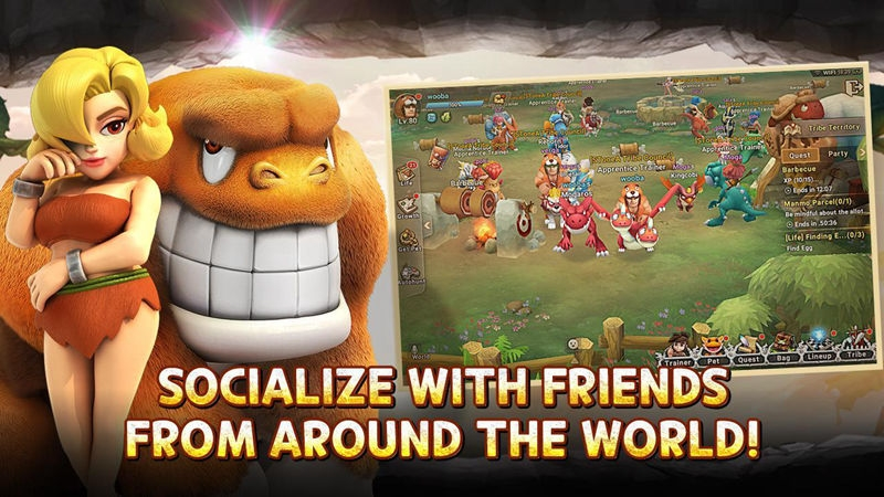 socialize with friends