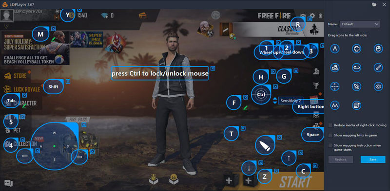 Play Garena Free Fire On Pc Guidetactics Updated 2019