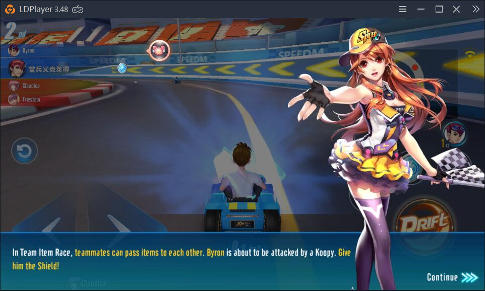 How to play Garena Speed Drifters on PC