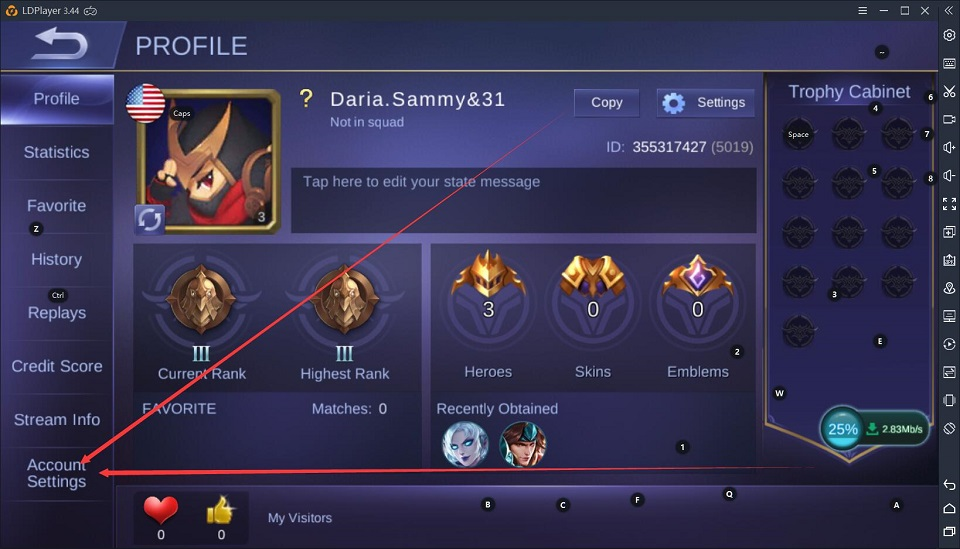 How to switch account in Mobile Legends: Bang Bang - LDPlayer