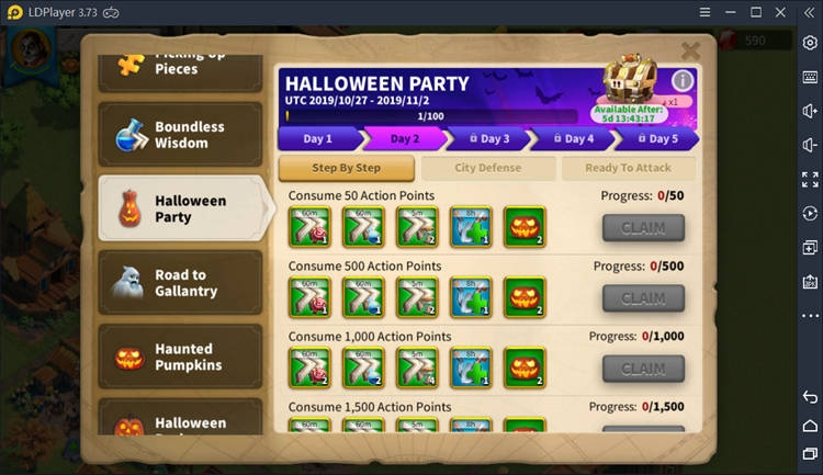 Halloween Part on Rise of Kingdoms