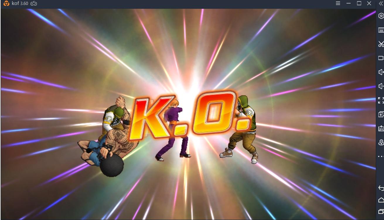 킹 오브 파이터 올스타 PC에서 플레이 공략