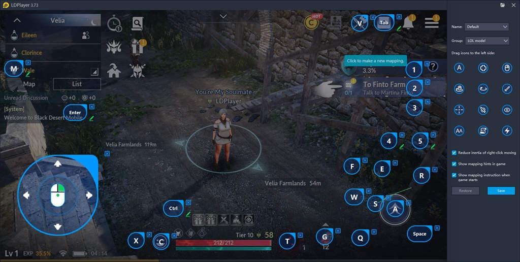 คู่มือการเล่น Black Desert Mobile บน PC