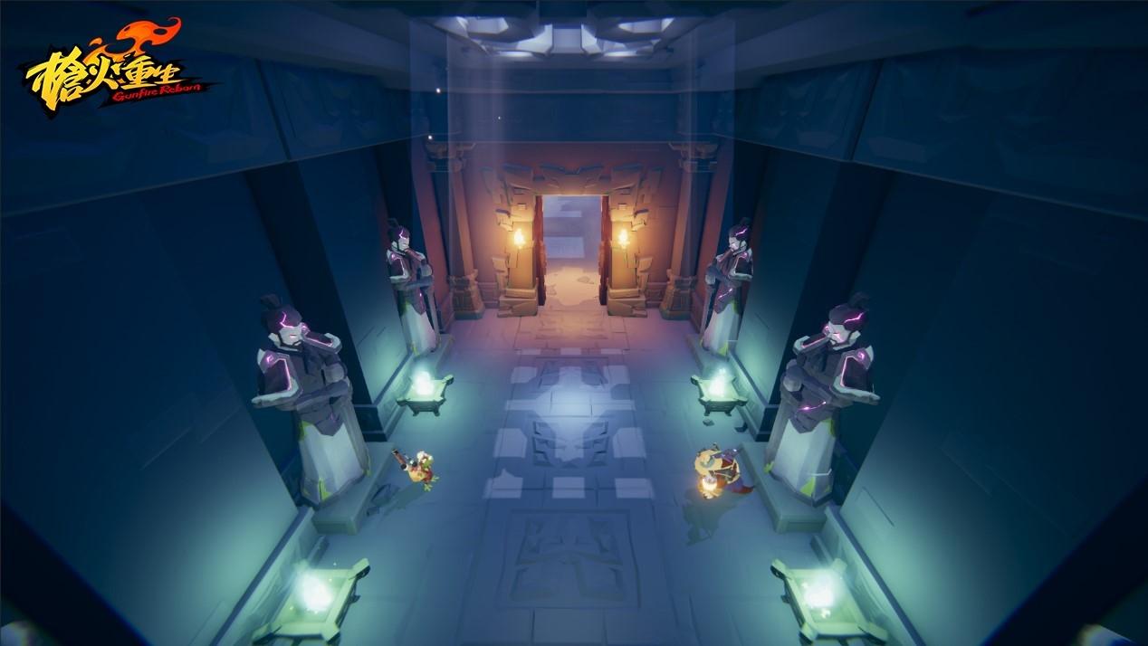 Roguelite射擊遊戲《槍火重生》在Steam開啟搶先體驗,官方設計稿曝光