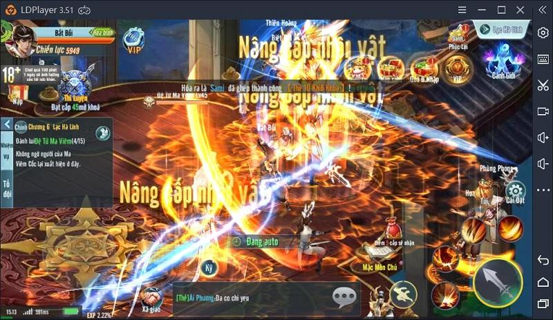 Hướng dẫn chơi Long Chiến Thương Khung trên PC