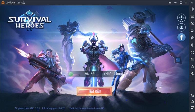 Hướng dẫn chơi Survival Heroes trên PC
