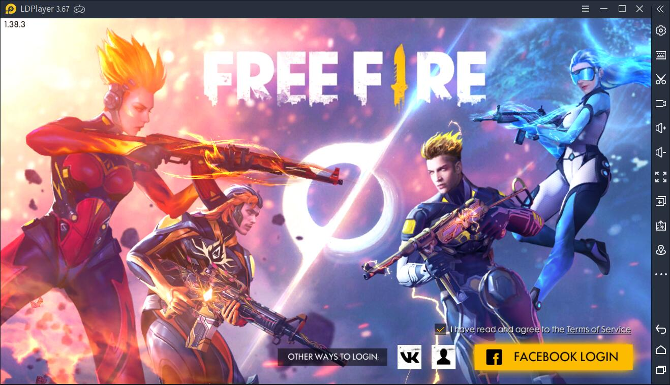 Play Free Fire on PC Guide&Tactics