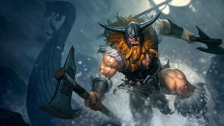 【攻略】《英雄聯盟:激鬥峽谷》狂戰士歐拉夫加點和出裝技巧