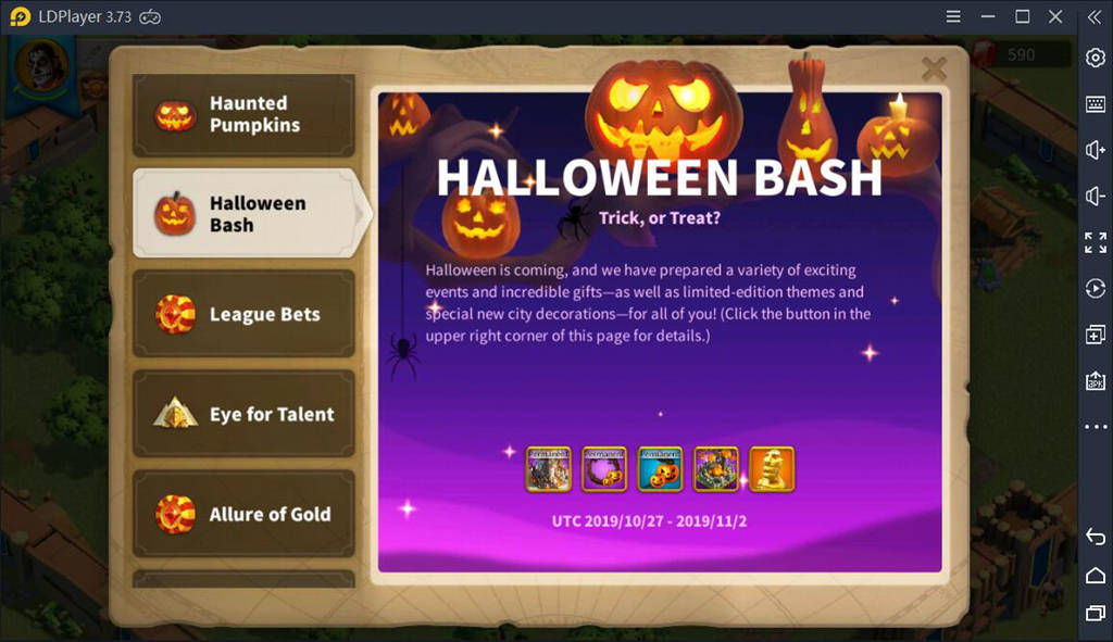 Rise of Kingdoms on PC: Spooky Halloween Updates