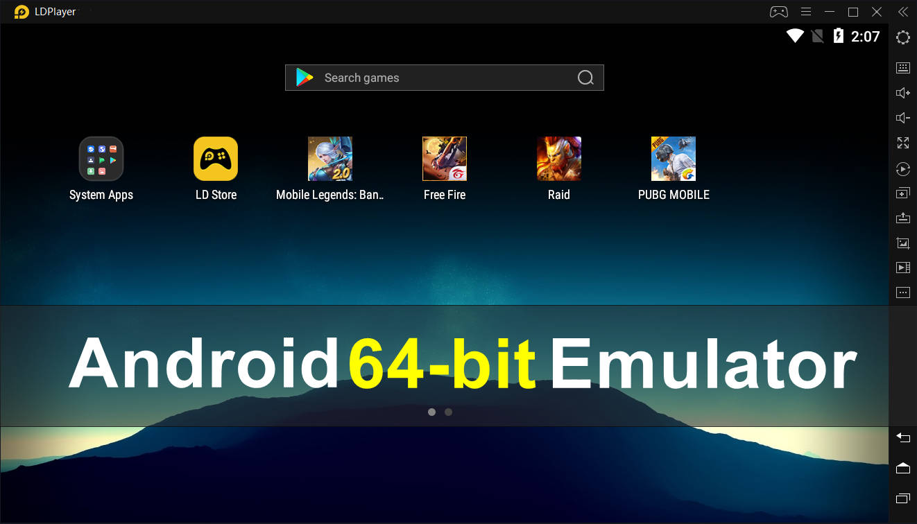 Download 64-bit Android Emulator for 64b...