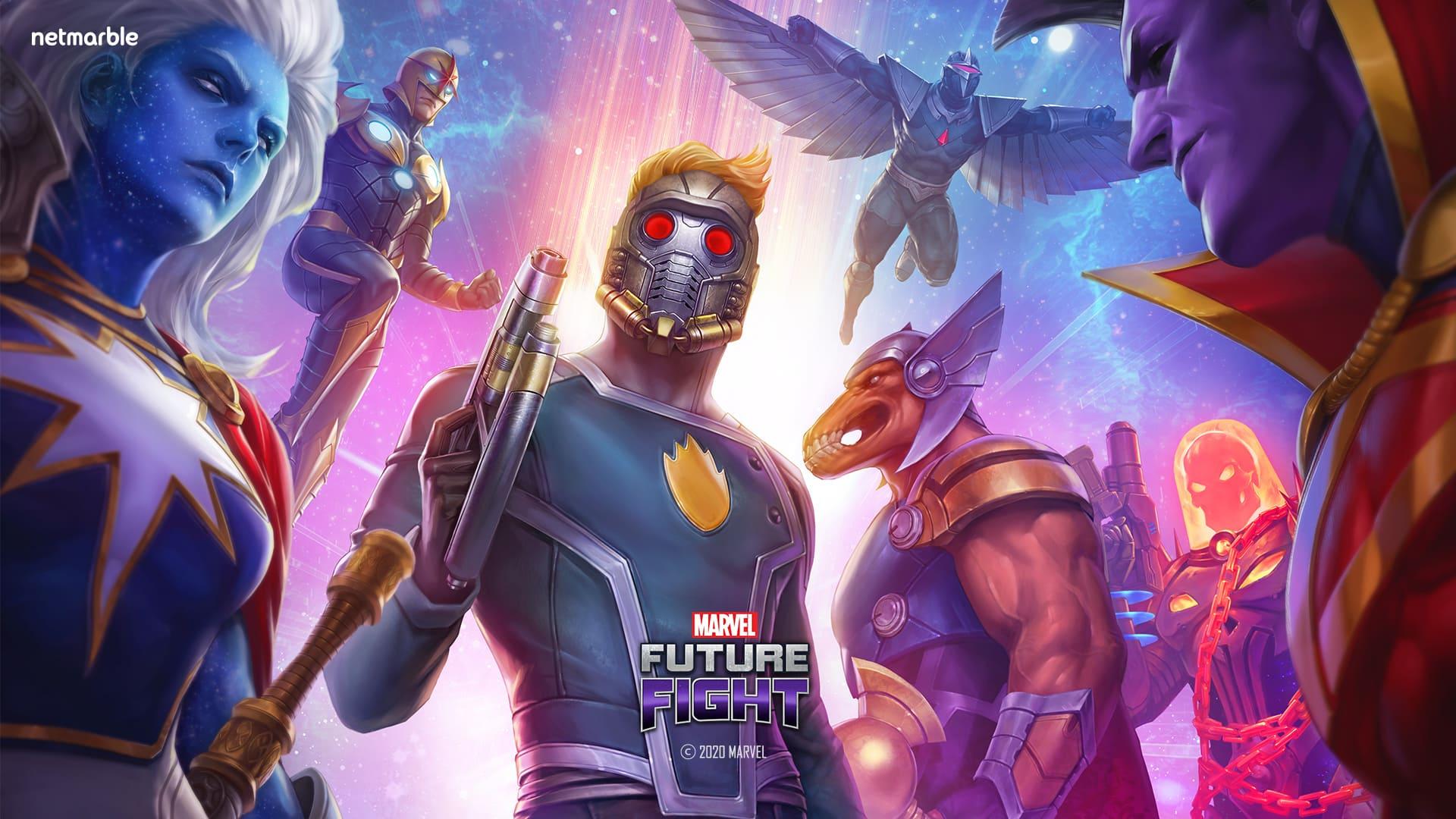 來自「星際異攻隊」的英雄  加入《MARVEL未來之戰》參戰