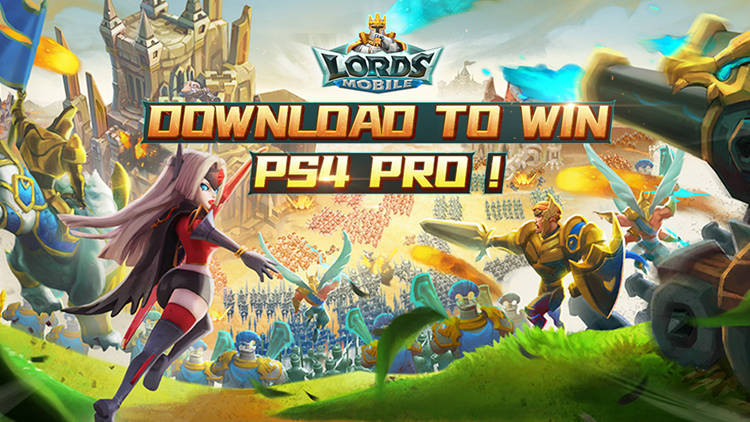 Lords Mobile x LDPlayer: Win PS4 PRO Giv...
