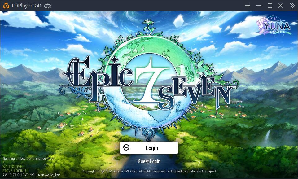 Jouer à Epic Seven sur PC