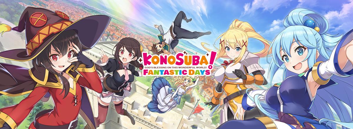 KonoSuba Fantastic Days คู่มือการสุ่มตัวละครและแนะนำตัวละครน่าเล่น