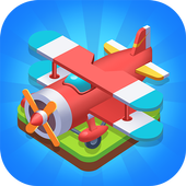 play Merge Plane - Click & Idle Tycoon on pc