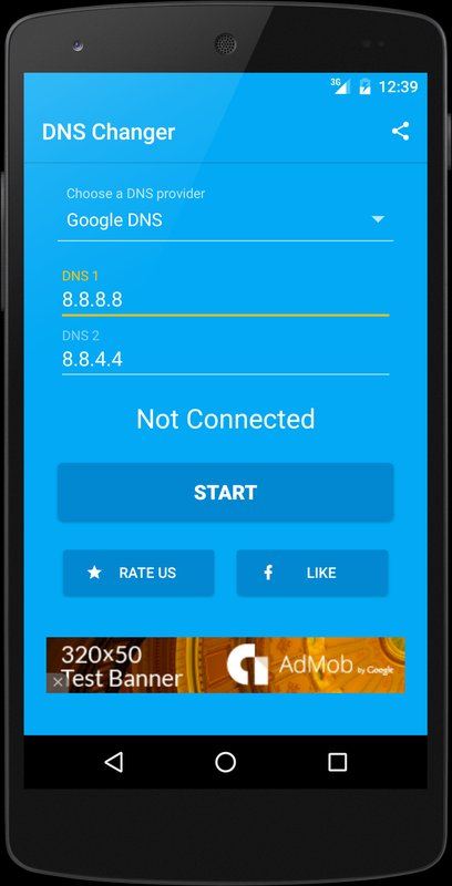 play DNS Changer (no root 3G/WiFi) on pc