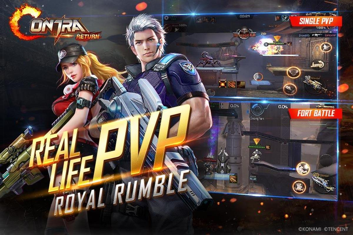 play Garena Contra: Return on pc