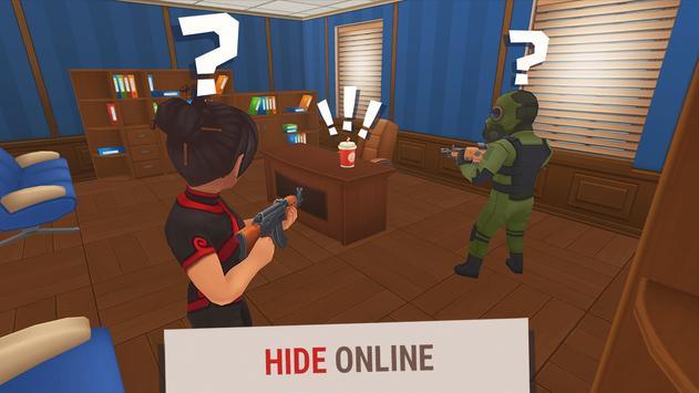 Hide Online Прятки с Друзьями