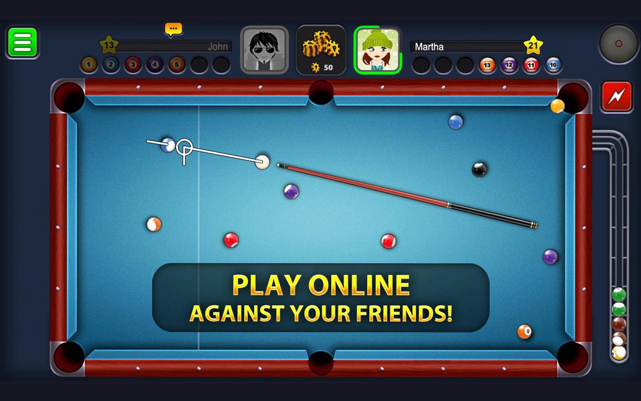 play 8 Ball Pool on pc
