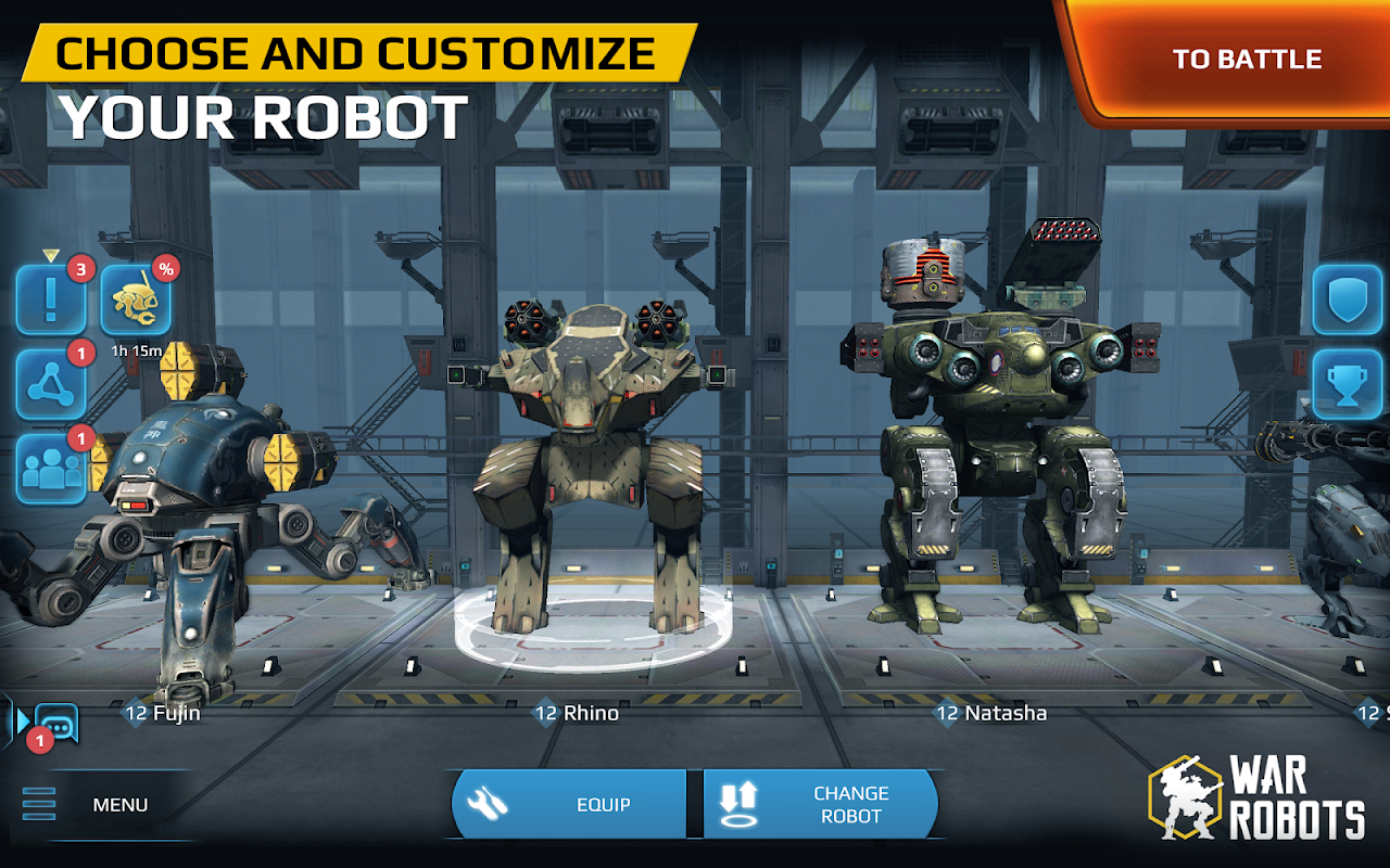 play Walking War Robots on pc