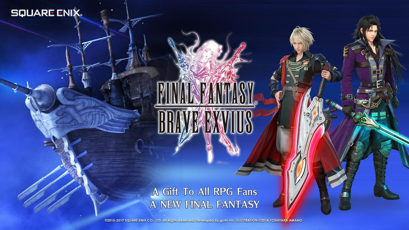play FINAL FANTASY BRAVE EXVIUS on pc