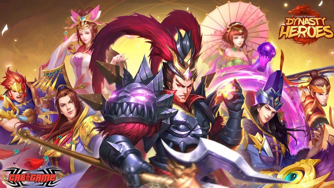 Mainkan Dynasty Heroes: Legend of SamKok di PC: Unduh Emulator Android Gratis