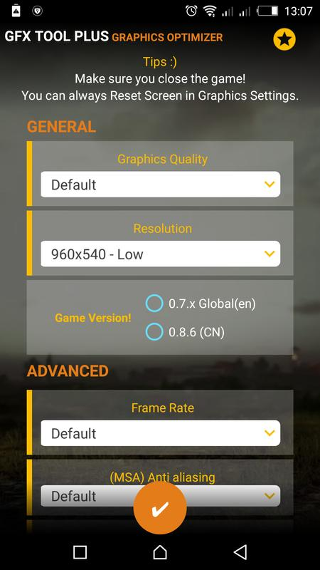 Download&Play PUB GFX Tool Plus for PUBG - NOBAN 60FPS on PC with